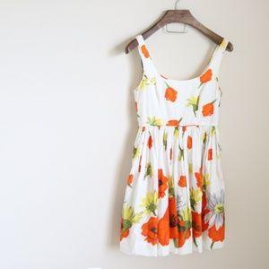 Moulinette Soeurs layered floral dress -B3
